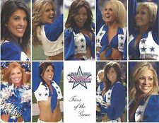 Dallas Cowboys 2009 Cheerleader Squad Picture for Autograph Events (circa 2009)