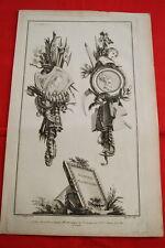 EAU FORTE JEAN CHARLES DELAFOSSE-VOYSARD ATHENES MACEDOINE-TROPHEES 1772