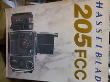 Hasselblad 205 FCC, Product Brochure LEAFLET MINT CONDITION