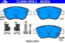 Bremsbelagsatz Scheibenbremse - ATE 13.0460-3839.2