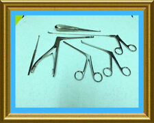 New 6 PC Arthroscopic Sinoscopy Rhinoscopy Instruments Set  Stainless Steel