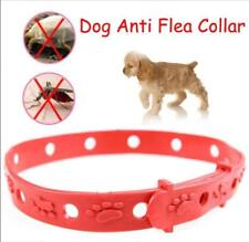 Red Adjustable Pet Cat Puppy Rabbit Neck Strap Anti Flea Mite Acari Tick Remedy