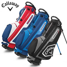 CALLAWAY CHEV C DUAL STRAP GOLF STAND CARRY BAG / ALL COLOURS / NEW FOR 2020