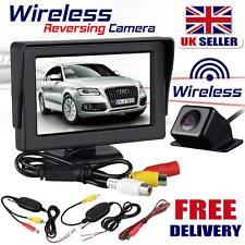 LCD Color Car Rear View Backup Night Vision Wide Angle Parking Reversing Camera