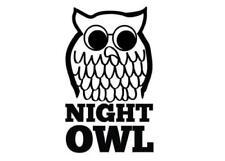 Northern Soul Night Owl Wigan Casino 200mm High Vinyl Scooter Car Van Sticker ..
