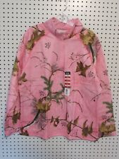 50a09a748c4a5 Realtree Ladie's 1/4 Zip Performance Fleece Jacket, Pink, Size XL (16