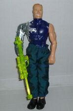 PSYCHO EXPLOSION 30cm Max Steel Cyborg Sci Fi Action Figure 1998 Mattel