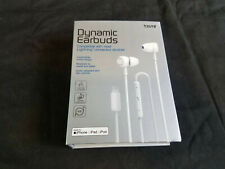 Tzumi Dynamic Earbuds For Apple iPod iPad iPhone Lightning Devices