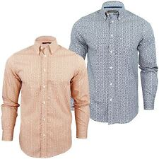 Ben Sherman Paisley Button Down Casual Shirts & Tops for Men