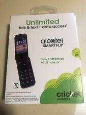 Cricket Alcatel GSM Phone 4G Lte WiFi, FM Radio Black