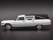 1966 CADILLAC HEARSE RARE 1/64 LIMITED DIORAMA COLLECTIBLE DIECAST MODEL CAR