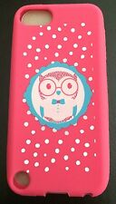 iPod Touch 5/5th Gen Pink Silicone Soft Case Cover Skin --Owl