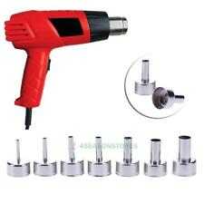 7XRound Nozzle for 858 Hot Wind Welding Air Gun Heat Resistant Soldering Station