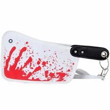 Ladies Bloody Horror Hatchet Wallet Halloween Knife Bag Cleaver Clutch Bag