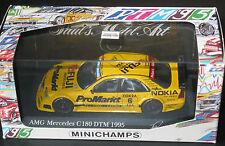 Mercedes C180 - DTM 1995 -  K THIIM - 1/43 Rare Minichamps MINT BOXED