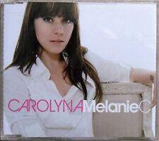 MELANIE C * CAROLYNA * PORTUGAL 3 TRK PROMO CD * HTF! * THIS TIME * SPORTY SPICE