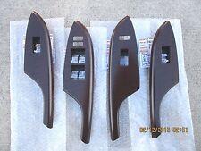 09 - 13 TOYOTA COROLLA SET OF ALL FOUR 4 SIDE WINDOW SWITCH BEZEL TRIM BRAND NEW