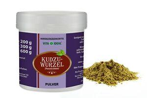 VITA IDEAL® Kudzu-Wurzel PULVER (Pueraria lobata) + Messlöffel