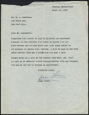 Isaac STERN (Violinist): Typed Letter Signed after a trip to the Soviet Union