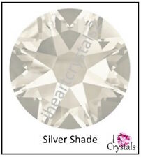SILVER SHADE 20ss 5mm 12 pieces SWAROVSKI Crystal Flatback Rhinestones 2058