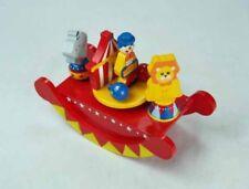 43873 MMM Holz Spieluhr Zirkus Wippe aus Holz Clown Löwe Manege Spieldose