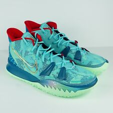 NEW Nike Kyrie 7 PreHeat Special FX Bleached Aqua Green Blue DC0588-400 Size 16