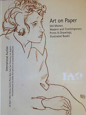 INTERNATIONAL AUCTIONEERS Art on Paper April 29, 1999