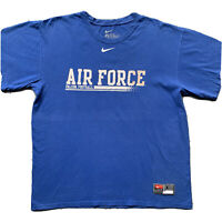 ✔️ NIKE AIR FORCE Vintage 80s T-Shirt - Size L - rare max 90s swoosh