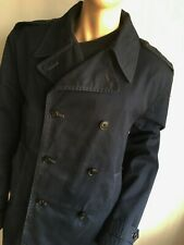 RALPH LAUREN POLO MENS XL 44-46  SHORT COTTON  TRENCH COAT PEACOAT JACKET COAT