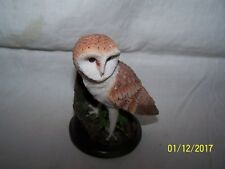 Barn Owl ~ Country Bird Collection ~ Andy Pearce ~ Eaglemoss ~ 2002