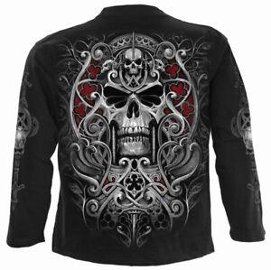 Spiral Direct REAPER'S  Long Sleeve T-shirt/Biker/Rock/Metal/Skull/Reaper/Top
