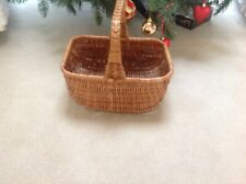 Vintage Wicker Basket Lovely item for decoration or use