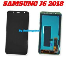 DISPLAY LCD TOUCH SCREEN+ BIADESIVO SAMSUNG GALAXY J6 2018 SM-J600FN NERO VETRO