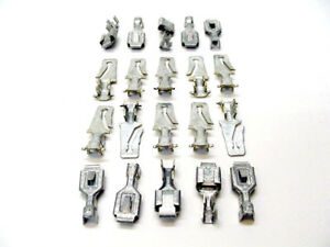 Cadillac GM 20pc 16-14 AWG M/F Wiring Harness Terminals Crimp Connectors NOS