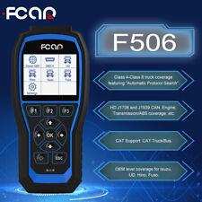 Fcar F506 Heavy Duty Truck Scanner Full System Diagnostic Tool For Ud Isuzu Fuso