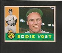 1960 Topps # 245 Eddie Yost Ex-Mt