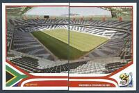 PANINI-SOUTH AFRICA 2010 WORLD CUP- #018-#019-NELSPRUIT-MBOMBELA STADIUM