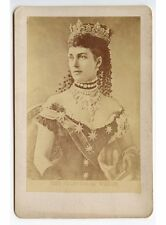 QUEEN ALEXANDRA/LONGEST-SERVING PRINCESS OF WALES 1863, CABINET PHOTO
