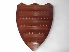 48pc Shield Wooden Thimble Display Rack ( Mahogany )( huge range - see list )