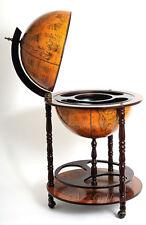 "Globe Hidden Home Pub Hide A Bar 37"" Old World Style Nautical Furniture New"