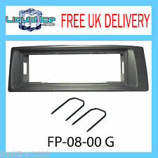RENAULT MEGANE SCENIC GREY SINGLE DIN FASCIA 1996 to 2003 ADAPTER PANL PLATE