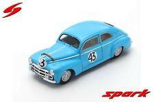 SPARK LM S4741 Peugeot 203 C #43 24h Le Mans 1952 Constantin Poch 1/43