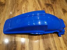 KAWASAKI KX 500 1988 2004 UFO Blue Plastic Rear fender mudguard Pro Circuit