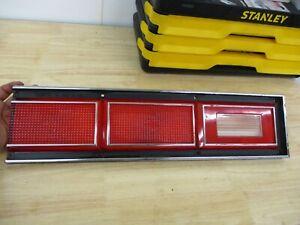 DRIVER LEFT TAIL LIGHT RED LENS 80-85 CHEVROLET CITATION DEALERSHIP STORAGE 1980