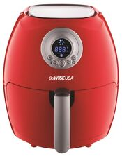GoWISE USA 2nd Gen. Small Electric Digital Air Fryer 2.75 QT Red GW22633