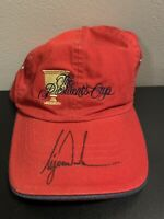 """Tiger Woods Autograph """"The Presidents Cup"""" Hat W COA"""