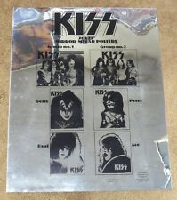 KISS VINTAGE MYLAR PROMO POSTER 1977-78 AUCOIN
