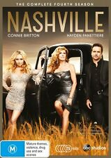 NASHVILLE  - COMPLETE SEASON 4 -  DVD - Region 4 - sealed