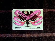 Grateful Dead Backstage Pass 7/16/1994 Washington, DC