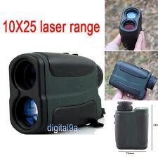 700m Laser Range Finder Binoculars Scope Distance 10x25 Rangefinder for Hunting